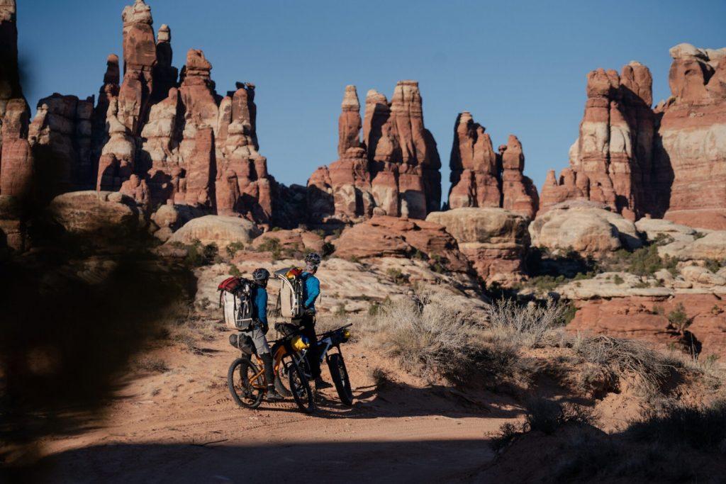 bikepacking Southern Utah.