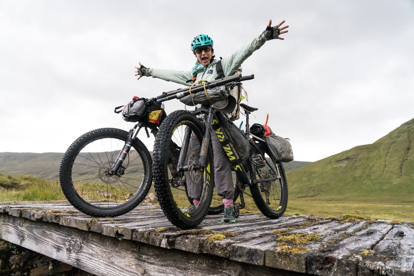 Lizzy Scully joins the Bikepacking Roots Board of Directors.