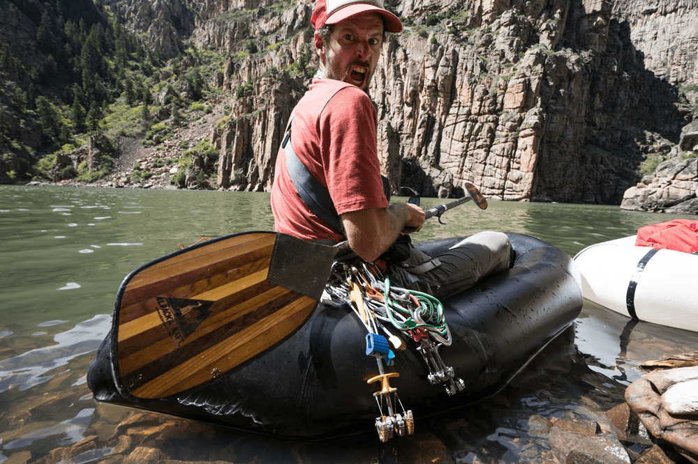 Doom on a packraft trip to the Curecanti Needle.
