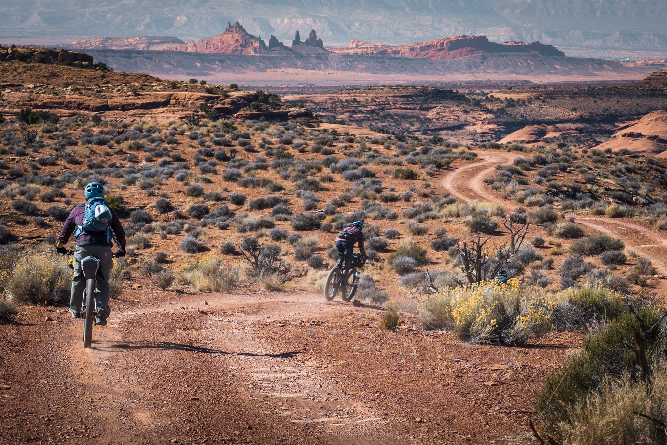 Bikepacking on the Navajo Lands with Jon Yazzie