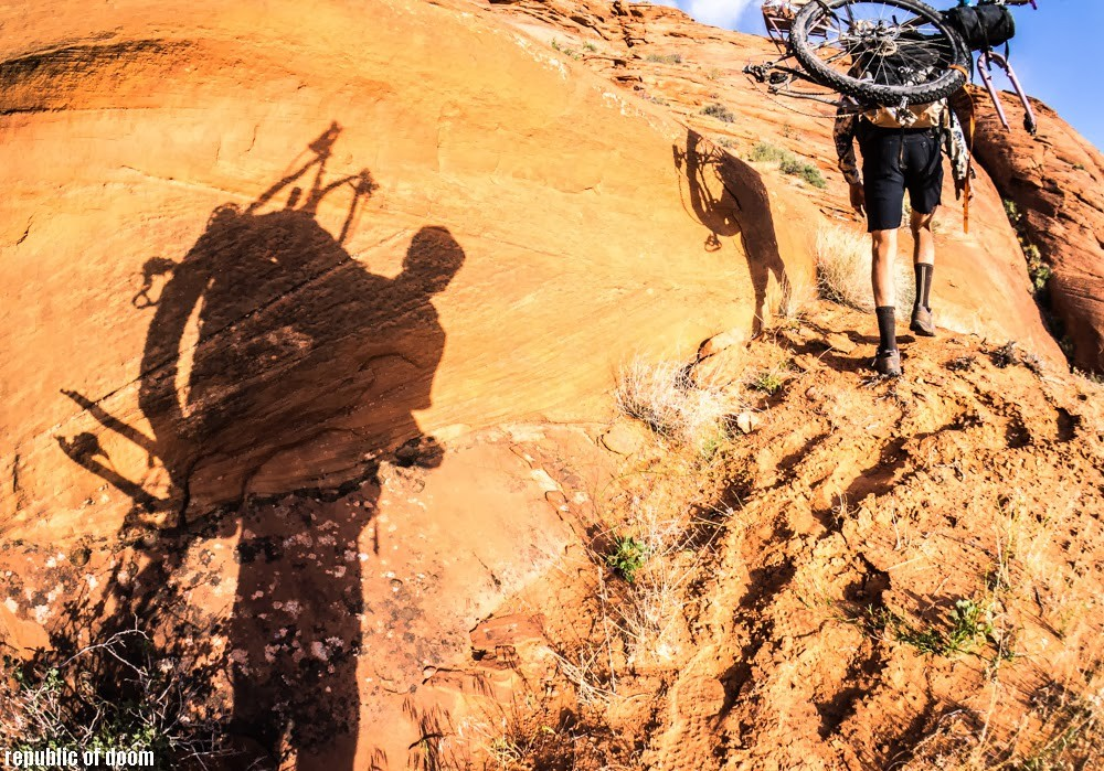 Desert bikepacking