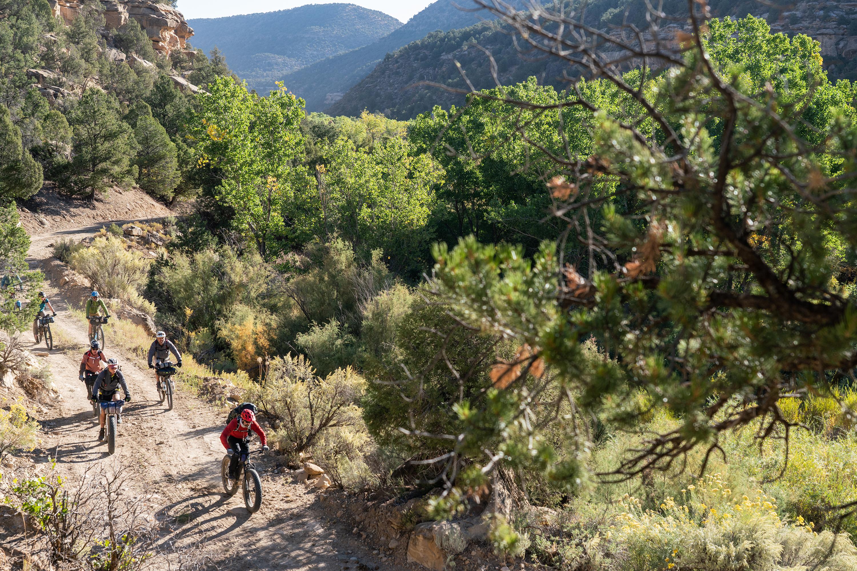 Ute tribal park Bikepacking Tour