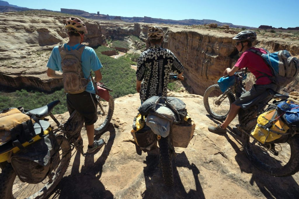 Dirty Devil Bike-Packrafting Loop - Utah