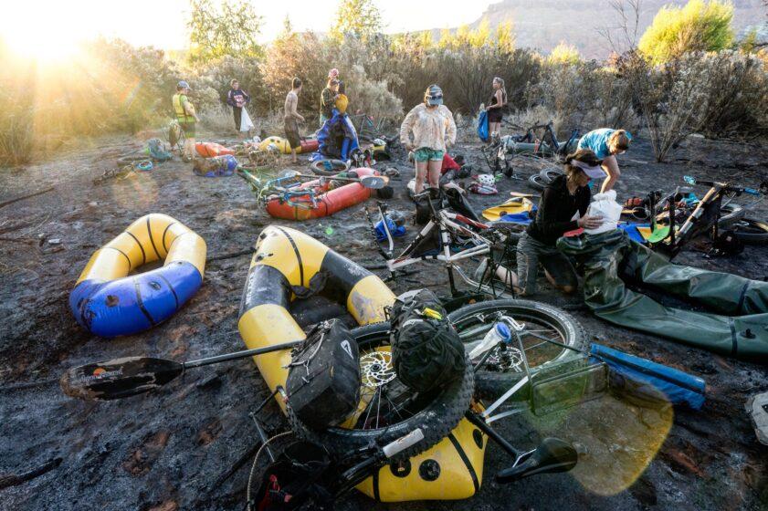 Devo Explorers Bikerafting, bikepacking, and packrafting.