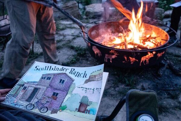Scullbinder Ranch cabin