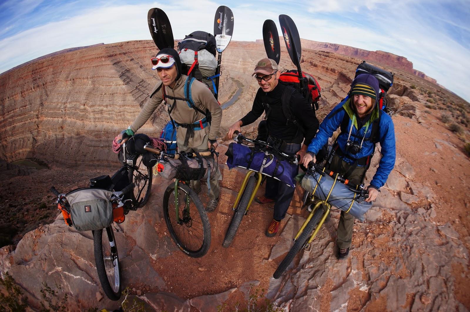 Desert Bikeraft Adventure