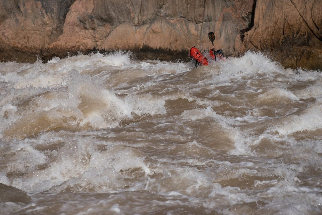 Grand Canyon self-supported packraft trip