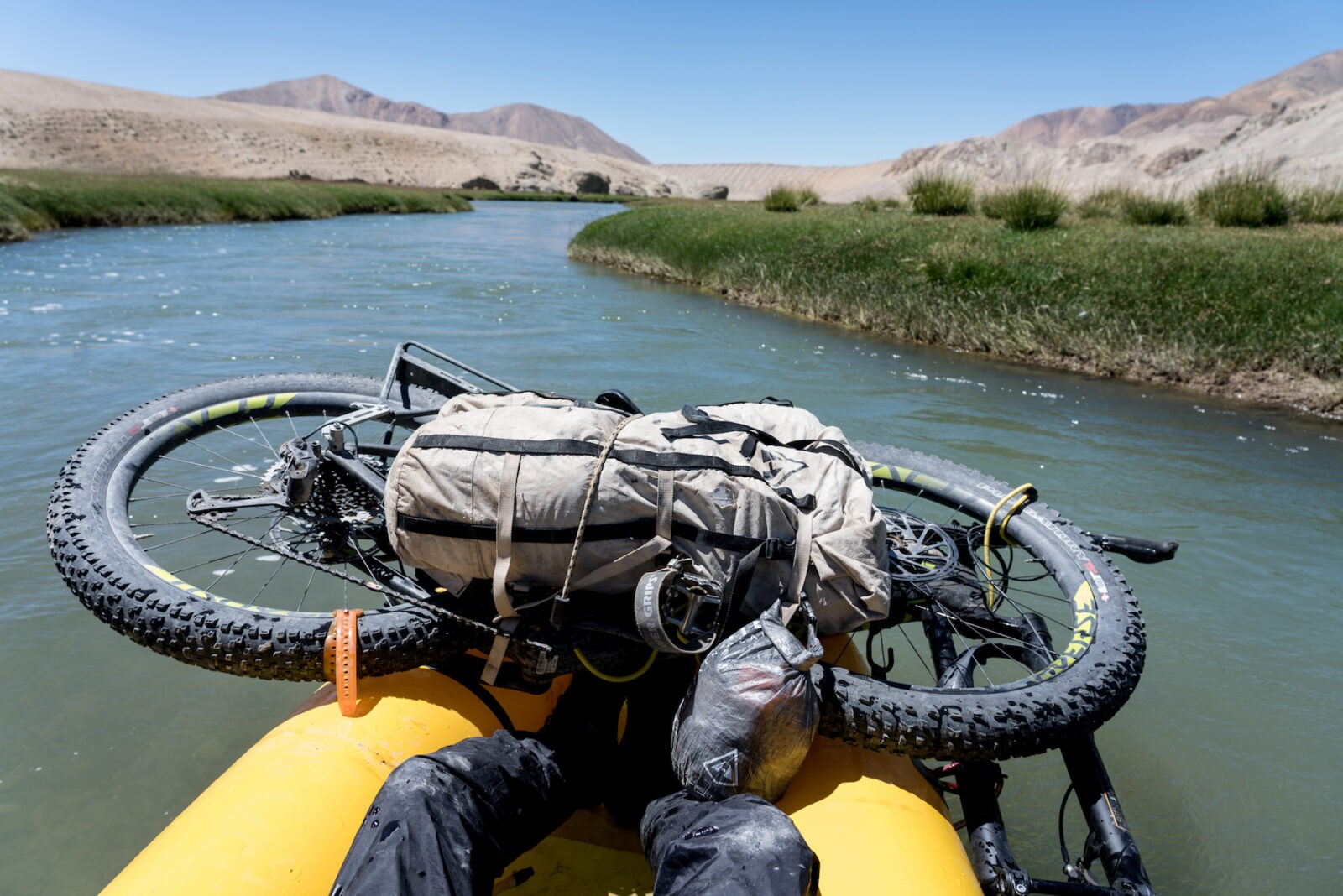 What's in your bikerafting kit?