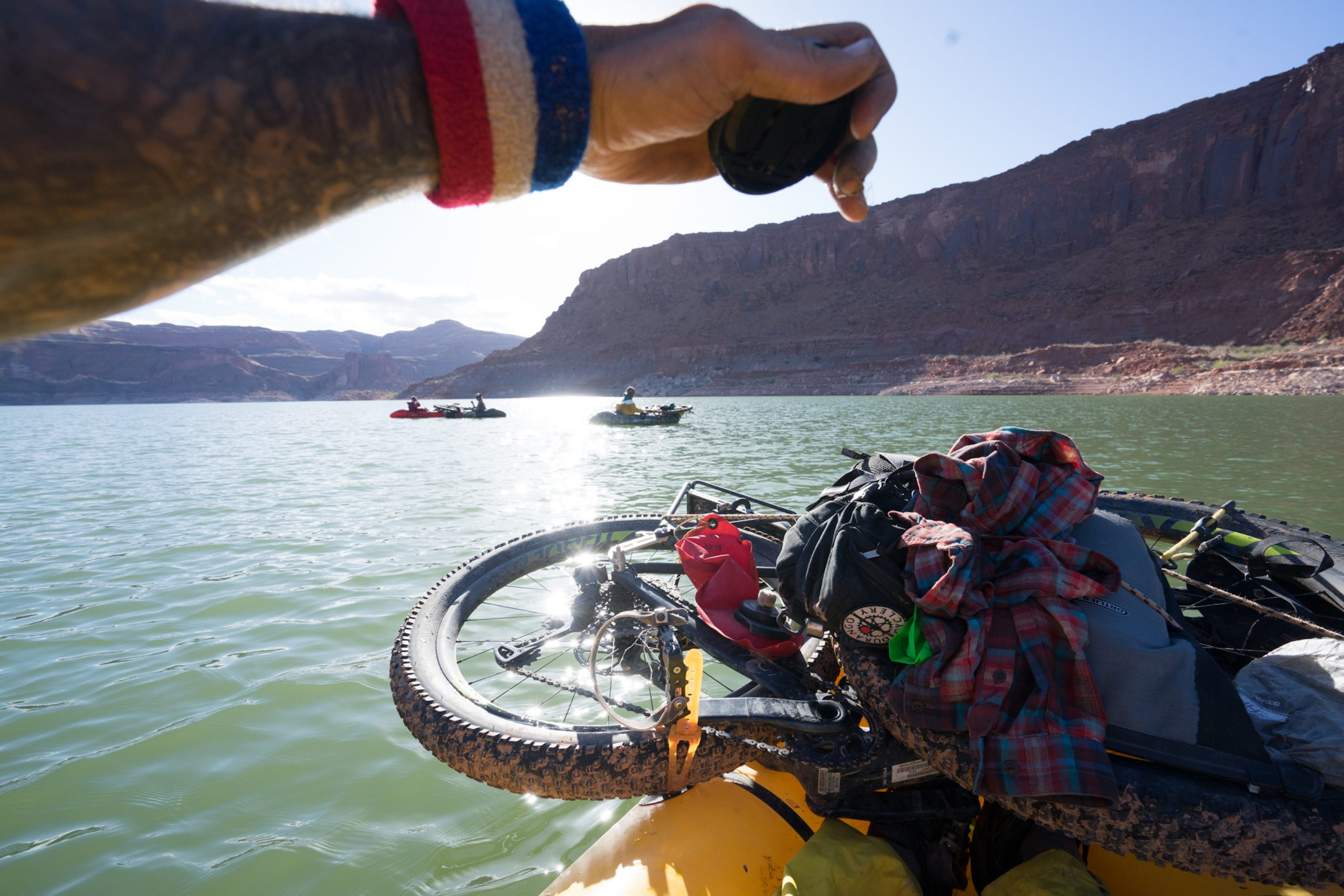 The hand of Doom with Jon Bailey Ashley Carruth Cara Kropp Lake Powell Utah