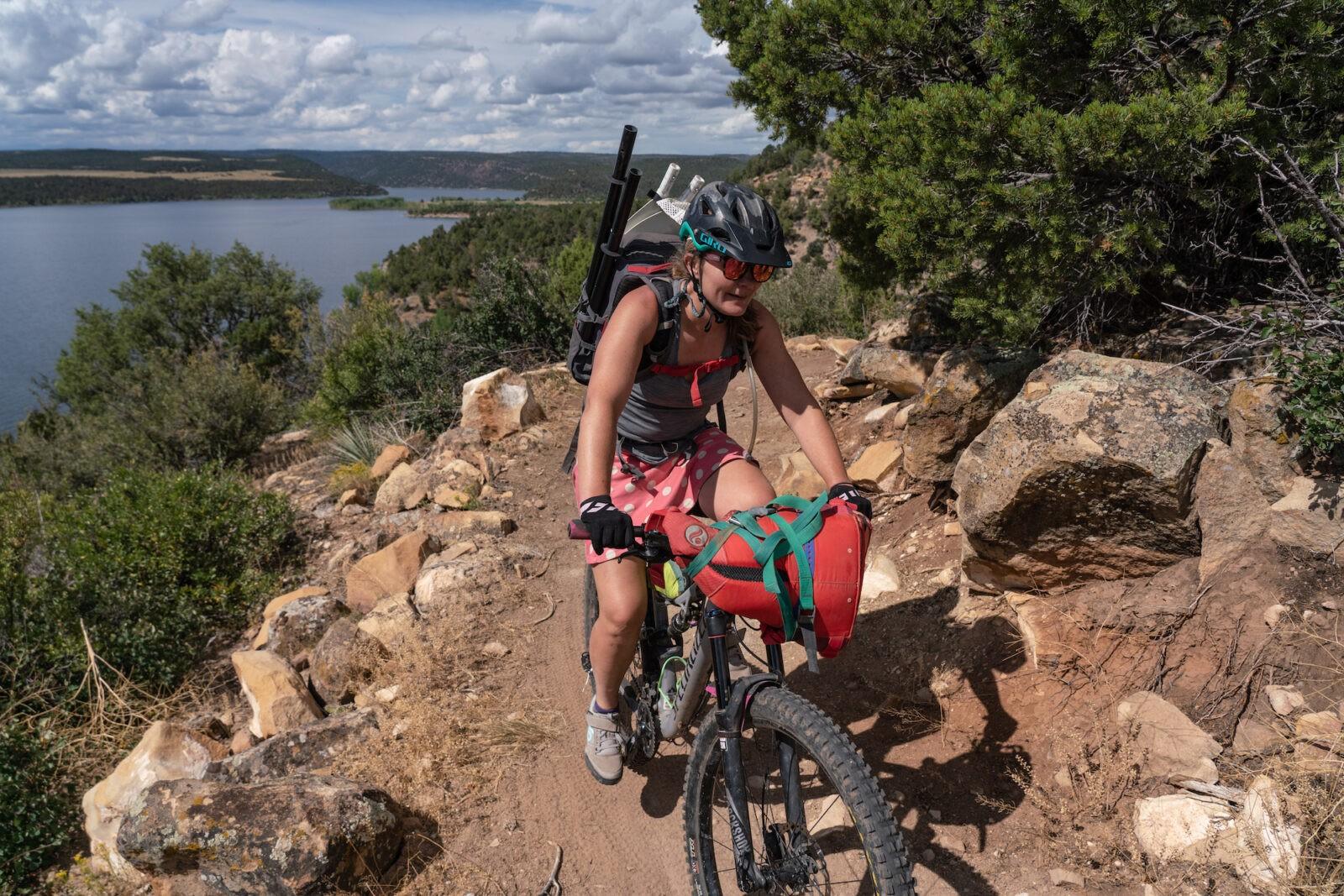 McPhee Reservoir Bikepacking Loop Tour