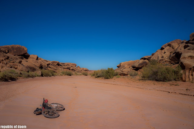 Solo Wild Ass Tour - Navajo Nation Bikerafting