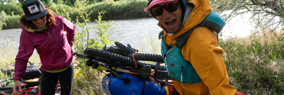 Bikerafting the Animas River