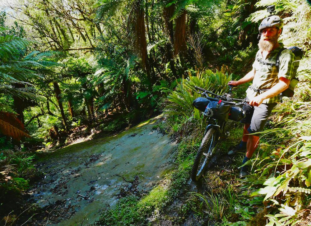 Deane Parker Bikerafting New Zealand Forgotten Highways