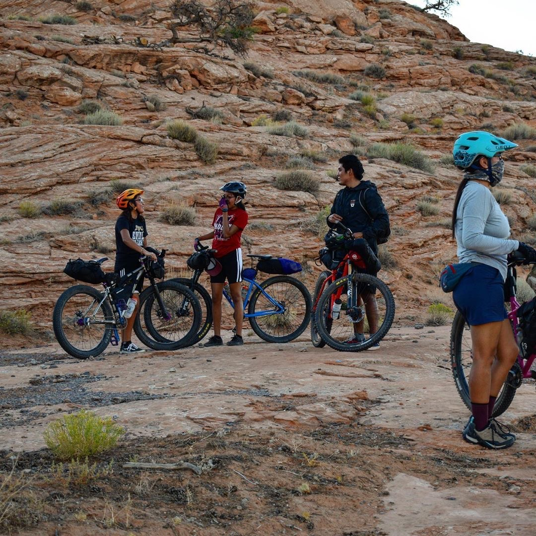 Navajo Youth Bikepacking Program