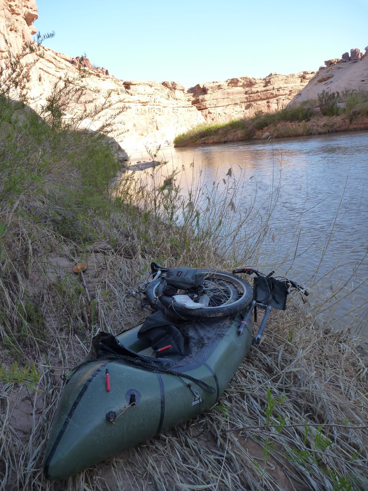 "Steve ""Doom"" Fassbinder's 1st Dirt Devil River Bikerafting Trip 234"