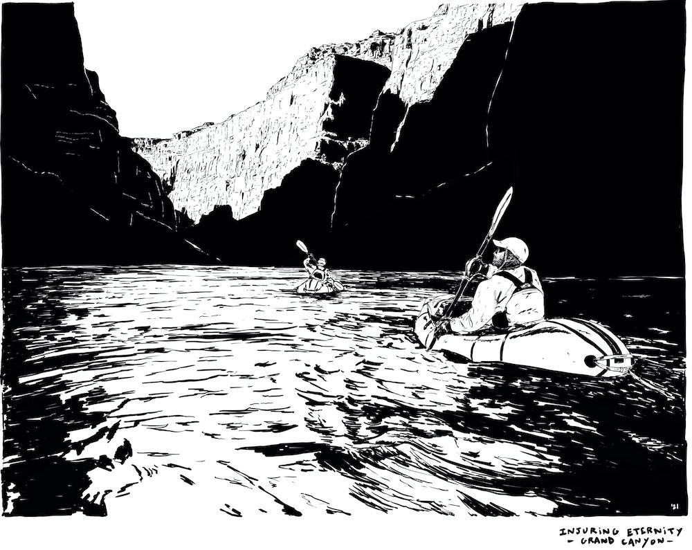 Illustration by Jeremie Lamart, a The Bikeraft Guide contributor.