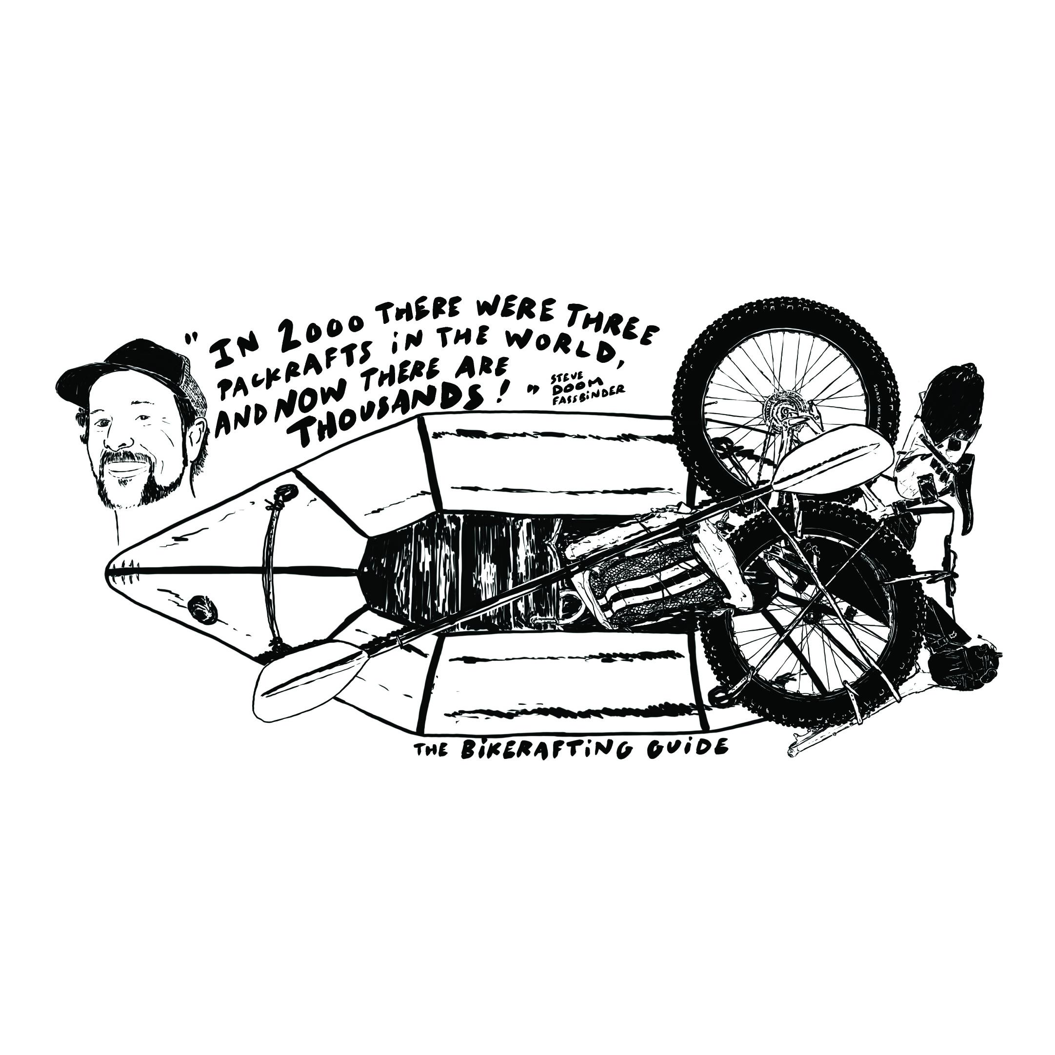 "Steve ""Doom"" Fassbinder quote and illustration by Jeremie Lamart"