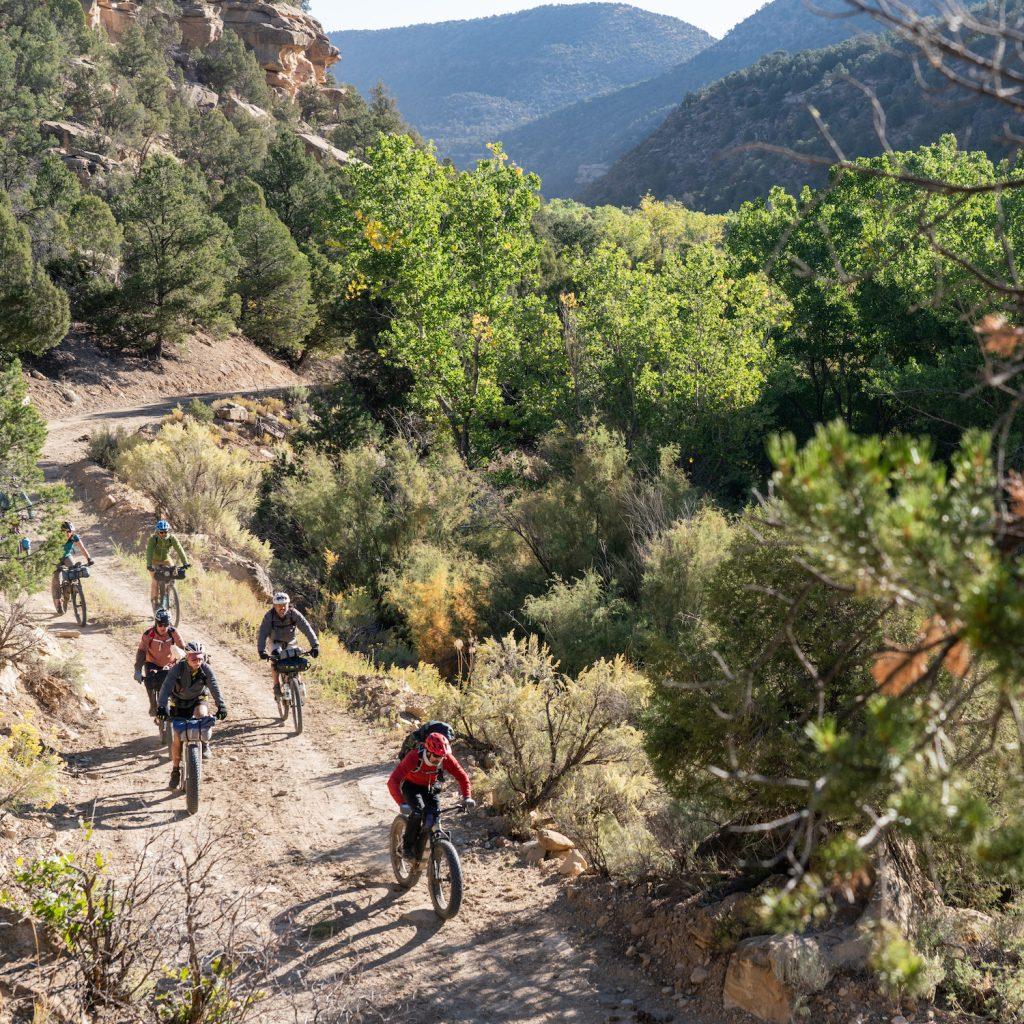 Ute Mountain Ute Tribal park bikepacking
