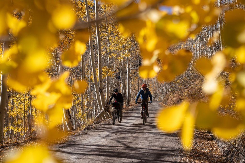 Bikepacking the Manti-La Sal National Forest, Utah.