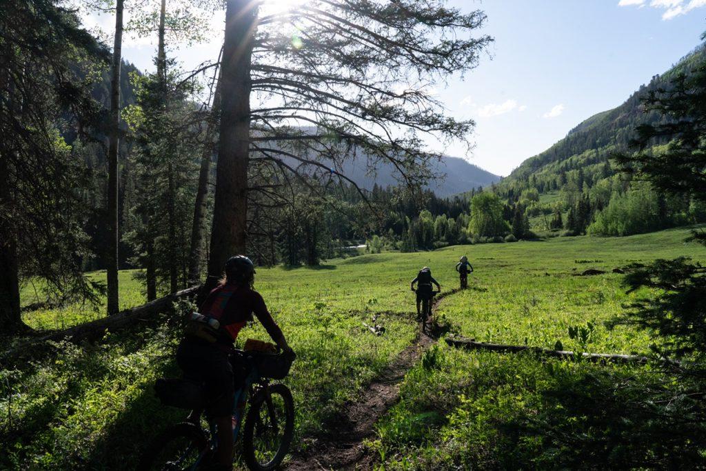 Bikepacking the La Plata Mountains, single track and dirt roads!