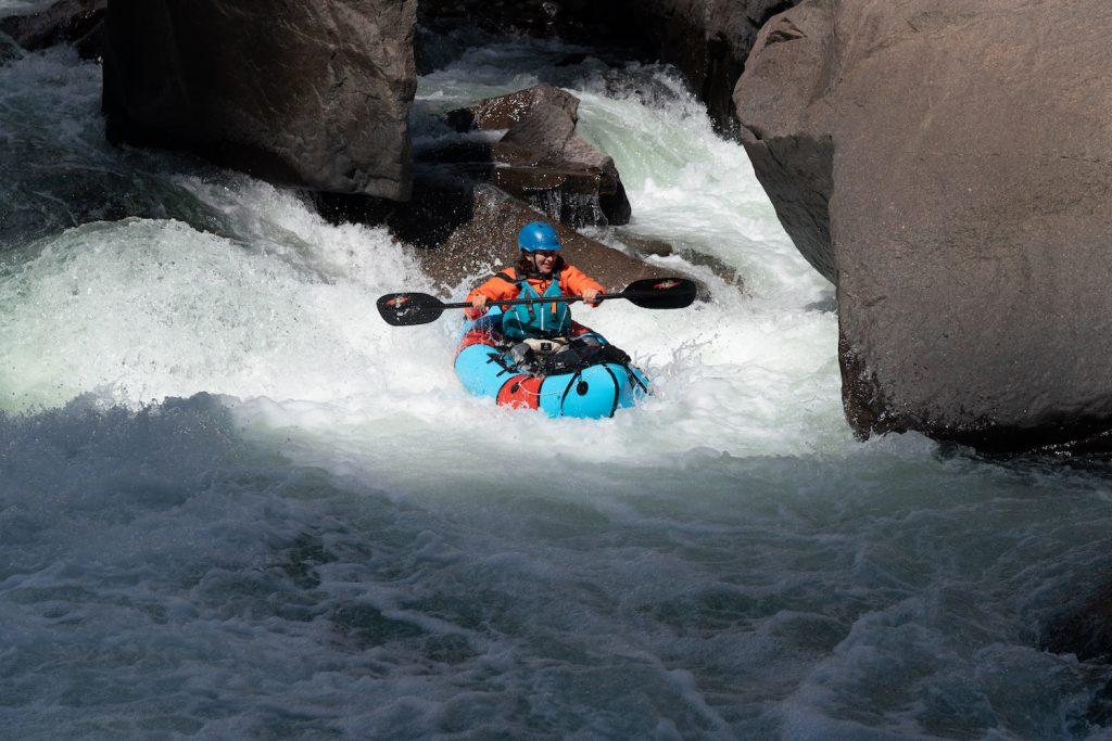 Packrafting the Animas River