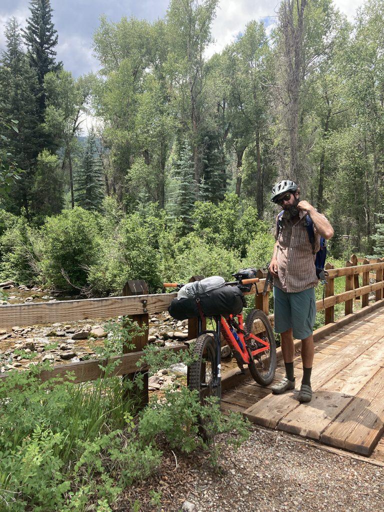 mountain bikepacking the la platas