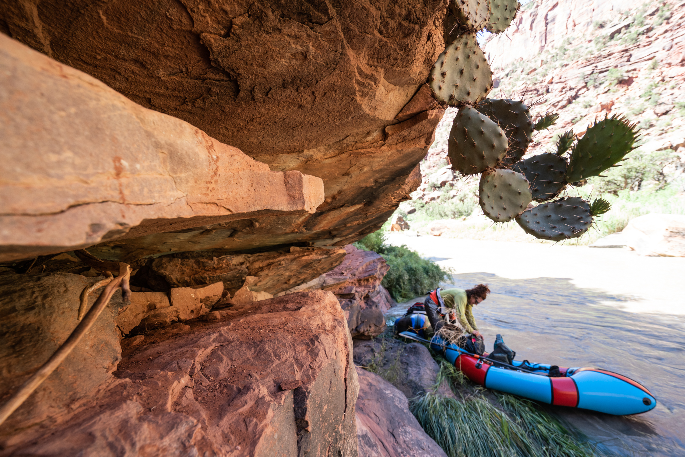 The Dolores River packrafting Tour