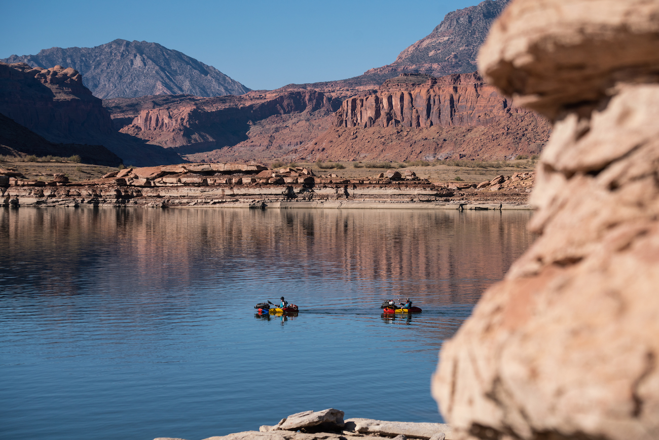 Bikerafting Utah's Glen Canyon National Rec Area - Lake Powell - Intro to Bikerafting